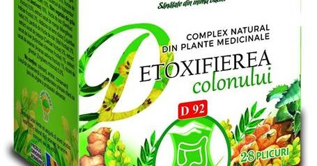 Ceai Curatarea Colonului, D83, 20 plicuri, Fares : Farmacia Tei
