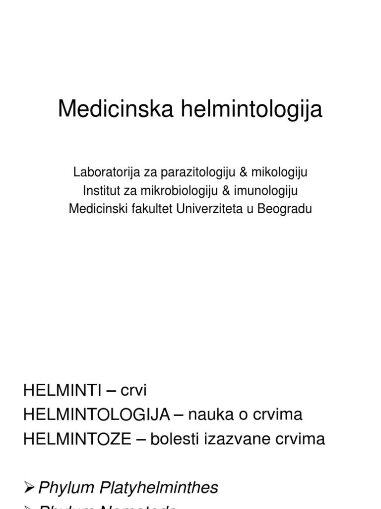 tabel de viermi și tipurile lor hpv vaccino richiami