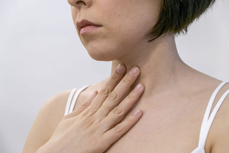 hpv douleur gorge