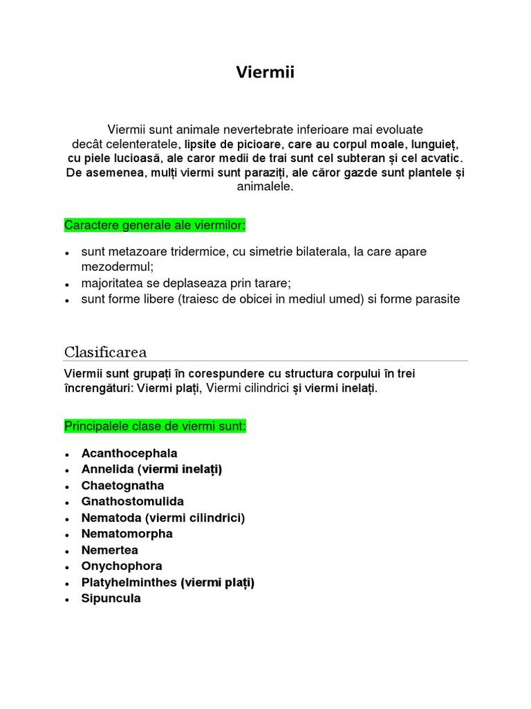 diagnosticul și tratamentul parazitului corpului uman