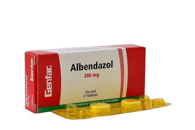 enterobius vermicularis medicamento