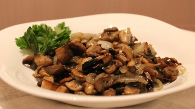 ciuperci prajite)