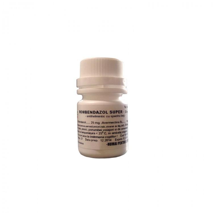 medicament antihelmintic un comprimat)
