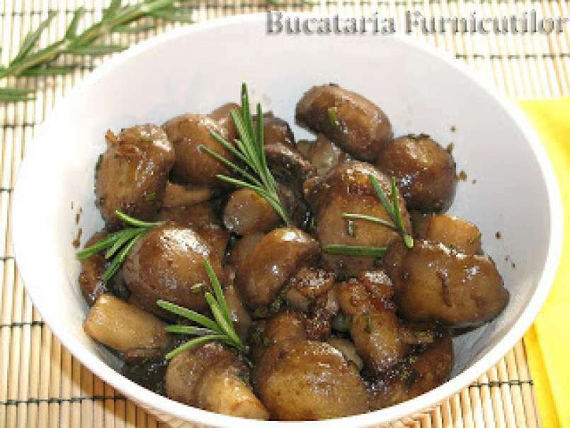 ciuperci in tigaie)
