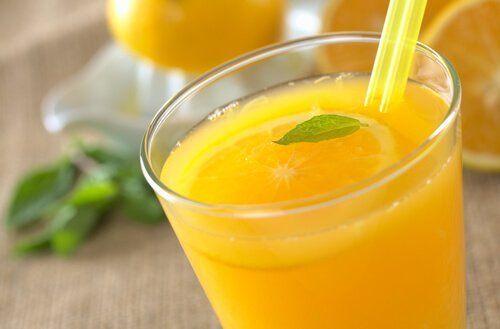 detoxifiere cu suc de portocale