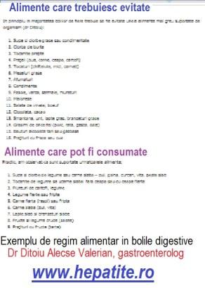 cancer la colon regim alimentar)