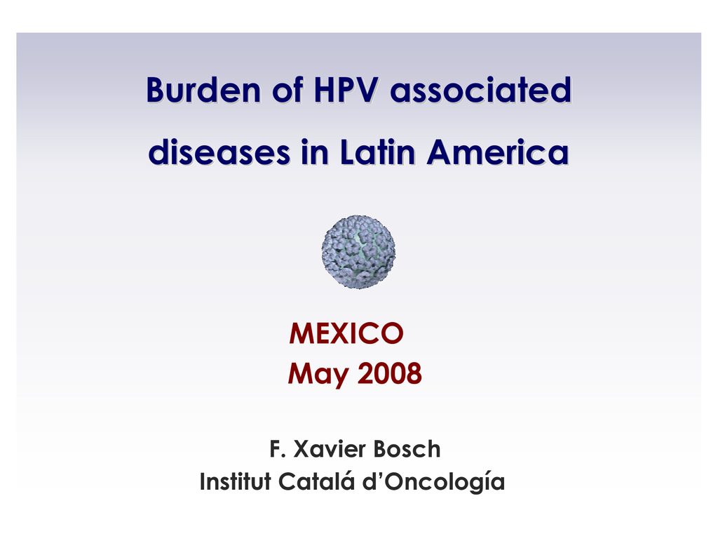 Hpv y cancer de colon
