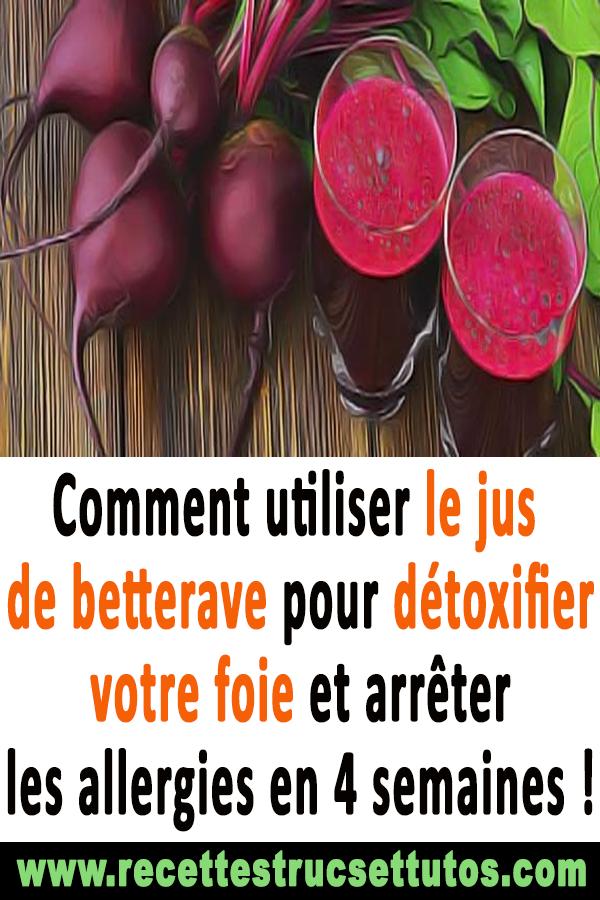 jus detoxifiant foie)