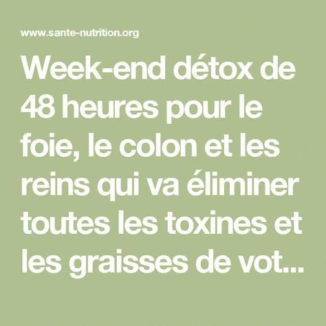cure detox foie colon)