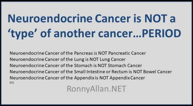 neuroendocrine cancer types