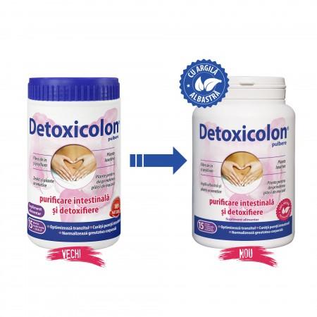 DACIA PLANT Detoxicolon g - 60 comprimate (Suplimente nutritive) - Preturi