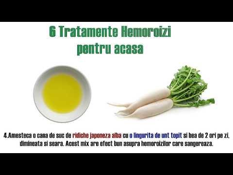 viermi și hemoroizi)