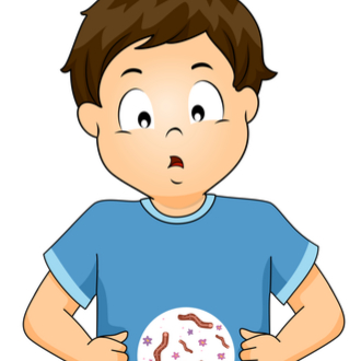 helminti la copii simptome)