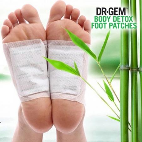 Plasture Detoxifiant cu Otet de Bambus pt Talpa Piciorului x 10, Ingrijire si tratament plagi