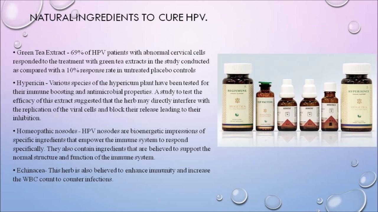 drug treatment for human papillomavirus