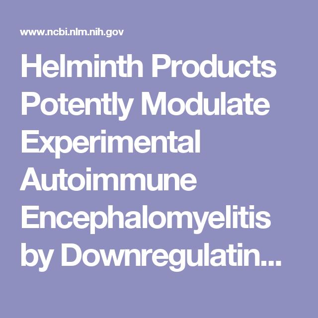 helminthic therapy anxiety un condilom în anus