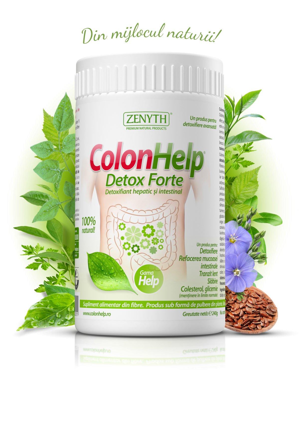 ingrediente de detoxifiere a colonului)