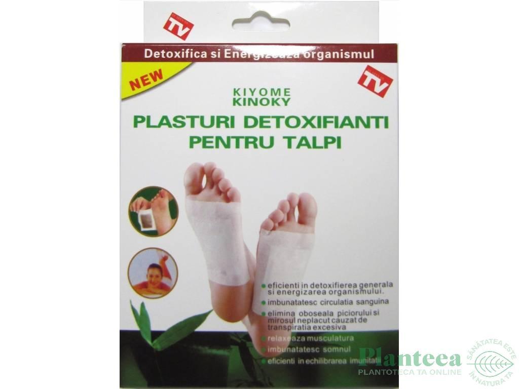 narcis plasturi detoxifiere