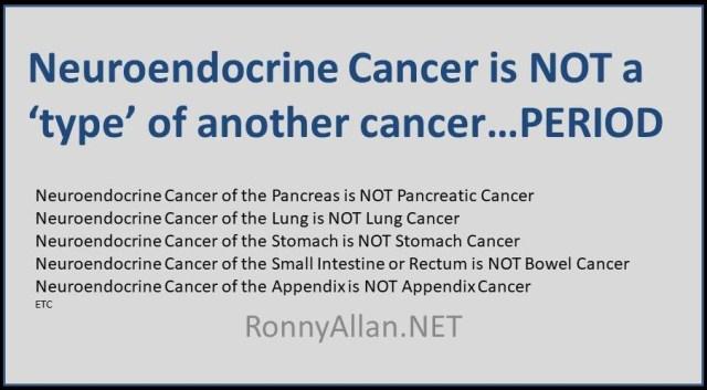 neuroendocrine cancer is)