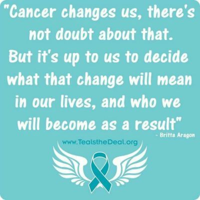 ovarian cancer quotes and sayings)
