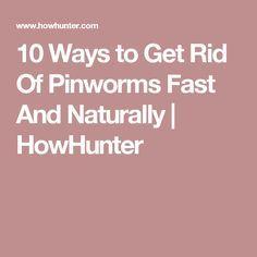 pinworms ce să facă)