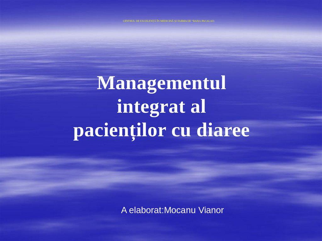 Prezentare generală a managementului paraziților