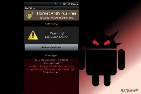 virus za android)